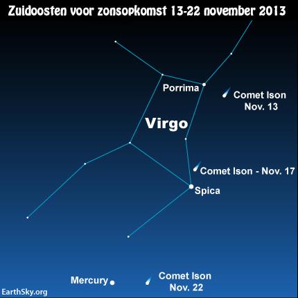 2013-november-12-text-comet-ison-mercury-spica-virgo-porrima-night-sky-chart