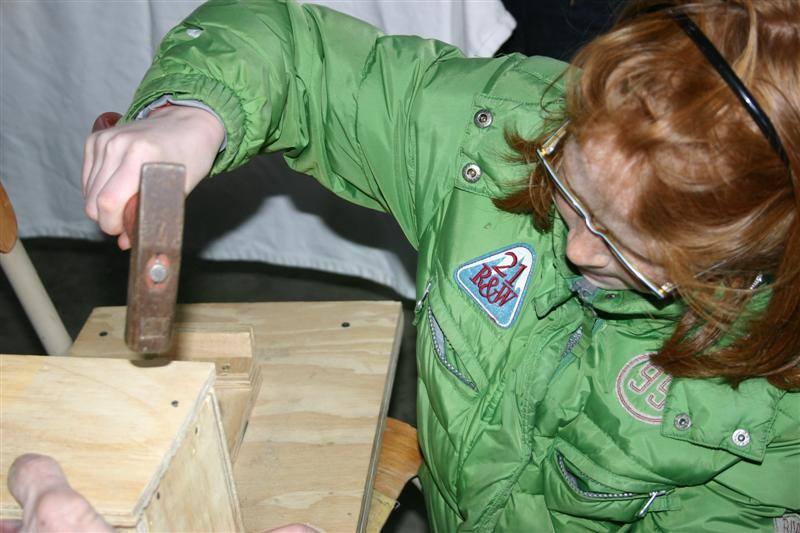 Workshop nestkastjes bouwen ECNS