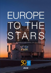 DVD: Europe to the stars. Over 50 jaar ESO. € 4
