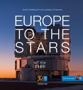 Boek: Europe to the stars (engelstalig): ober 50 jaar ESO. €25