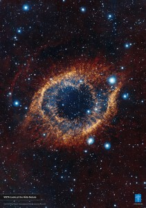 VISTA Looks at the Helix Nebula