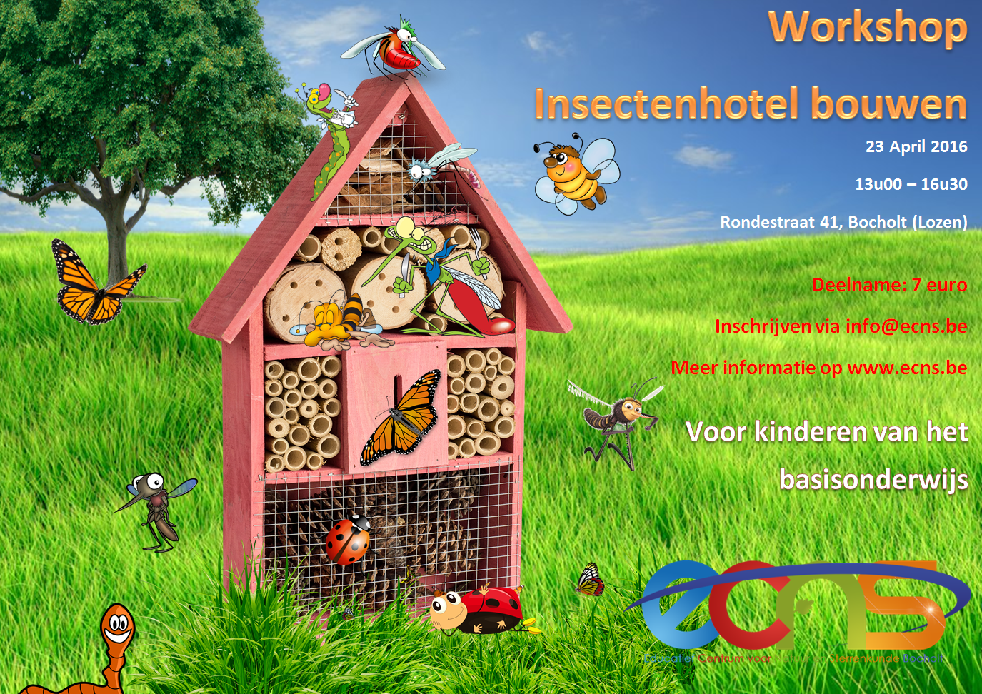 Workshop Insectenhotel